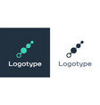 logotype anal beads icon isolated on white