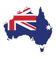 map australia vector image vector image