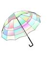 multicolor umbrella vector image vector image