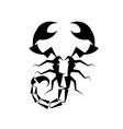 scorpio logo icon vector image