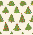 seamless festive pattern with hand-drawn vector image
