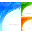 Set of tech backgrounds vector | Price: 1 Credit (USD $1)