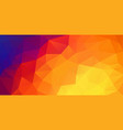 abstract 2d triangle background with triangle vector image vector image