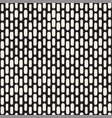 black and white irregular rounded dashed lines vector image vector image
