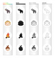 century history study and other web icon in vector image vector image