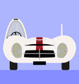 competition classic car vector image vector image