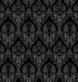 damask texture vector image vector image
