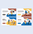 education banners set vector image vector image