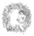 fairy or elf vector image vector image
