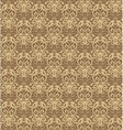 Intricate Beige and Brown Luxury Seamless Pattern vector image vector image