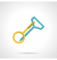 Screw hook and anchor vector image