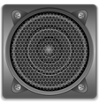 Sound speaker icon vector | Price: 3 Credits (USD $3)