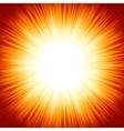 summer sun light burst vector image vector image
