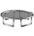 trampoline vector image vector image