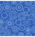 Seamless pattern with gears vector image
