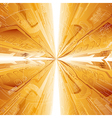 Abstract technology tunnel vector image