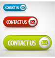 contact us vector image vector image