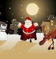 Dreadful Christmas vector image vector image
