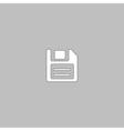 Floppy Disk computer symbol vector image