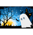 Grunge Halloween Card vector image vector image