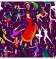 Spanish girl flamenco dancer in red dress spanish vector image vector image