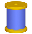 Spool vector image