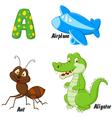 A alphabet vector image