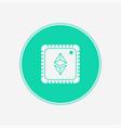 ethereum icon sign symbol vector image