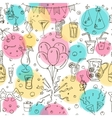 Cocktail Party seamless pattern Isolated vector image