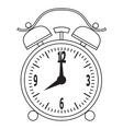 Alarm clock recovery for the appointed time vector image vector image