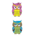 Babes owl vector image vector image