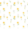 Beautiful floral summer seamless pattern