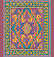 colorful template for carpet vector image