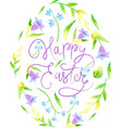 happy easter image vector image