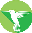 Hummingbird Icon vector image vector image
