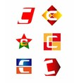 Letter C logo design sample vector image vector image
