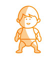 little baby avatar character vector image vector image