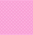 seamless pattern pink tiles vector image vector image