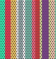 Seamless weaving pattern vector image vector image