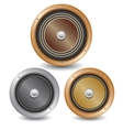 Speakers vector image