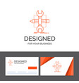 business logo template for build design develop vector image vector image