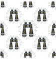 camp binocular seamless background camping vector image