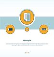 document paper Concept design vector image vector image