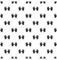 gardening gloves pattern seamless vector image