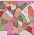 geometric background in shades of pink and green vector image vector image