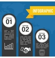 Infograhic design Data icon Colorful vector image
