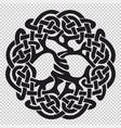 tree of life pagan symbol vector image