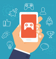 gamification concept vector image