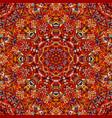 stylized flowers oriental wallpaper retro seamless vector image