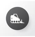 bulldozer icon symbol premium quality isolated vector image vector image